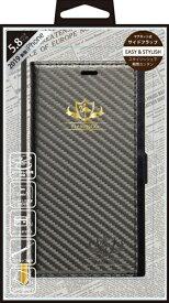 ナチュラルデザイン NATURAL design iPhone 11 Pro 5.8インチ専用手帳型ケース FLAMINGO Carbon/Gray iP19_58-FL07