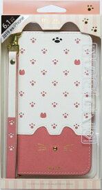 ナチュラルデザイン NATURAL design iPhone 11 6.1インチ 専用手帳型ケース Minette Pink iP19_61-MIN01