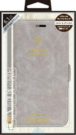 ナチュラルデザイン NATURAL design iPhone 11 6.1インチ 専用手帳型ケース Style Natural Gray iP19_61-VS01
