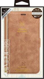 ナチュラルデザイン NATURAL design iPhone 11 6.1インチ 専用手帳型ケース Style Natural Camel iP19_61-VS04