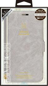 ナチュラルデザイン NATURAL design iPhone 11 Pro Max 6.5インチ 専用手帳型ケース Style Natural Gray iP19_65-VS01