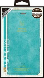 ナチュラルデザイン NATURAL design iPhone 11 Pro Max 6.5インチ 専用手帳型ケース Style Natural Turquoise iP19_65-VS08
