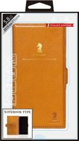ナチュラルデザイン NATURAL design iPhone 11 Pro 5.8インチ専用本革手帳型ケース Chevalier CAMEL iP19_58-CHE01