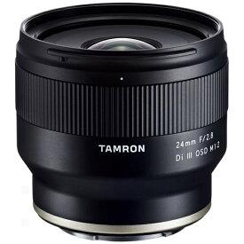 タムロン TAMRON カメラレンズ 24mm F/2.8 Di III OSD M1:2(Model F051) [ソニーE /単焦点レンズ][F051_24F2.8Di3_M1:2]