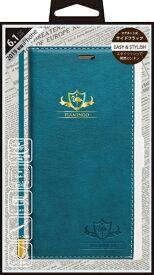 ナチュラルデザイン NATURAL design iPhone 11 6.1インチ 専用手帳型ケース FLAMINGO Turquoise iP19_61-FL01