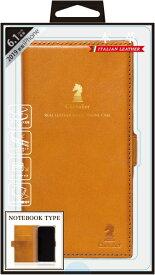 ナチュラルデザイン NATURAL design iPhone 11 6.1インチ 専用本革手帳型ケース Chevalier CAMEL iP19_61-CHE01