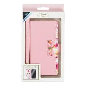ナチュラルデザイン NATURAL design iPhone 11 Pro 5.8インチ専用手帳型ケース Bouquet Pink iP19_58-BQ05