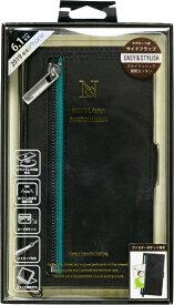ナチュラルデザイン NATURAL design iPhone 11 6.1インチ 専用手帳型ケース z-line Black iP19_61-ZL01