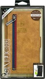 ナチュラルデザイン NATURAL design iPhone 11 6.1インチ 専用手帳型ケース z-line Camel iP19_61-ZL04