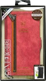 ナチュラルデザイン NATURAL design iPhone 11 6.1インチ 専用手帳型ケース z-line Red iP19_61-ZL05