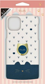 ナチュラルデザイン NATURAL design iPhone 11 6.1インチ 専用背面ケース Minette Navy iP19_61-MINP03