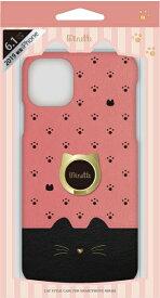 ナチュラルデザイン NATURAL design iPhone 11 6.1インチ 専用背面ケース Minette Pink × Black iP19_61-MINP07