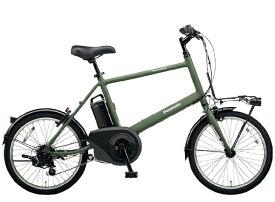 パナソニック Panasonic 電動アシスト自転車 ベロスター.ミニ マットオリーブ BE-ELVS072G [7段変速 /20インチ]【組立商品につき返品不可】 【代金引換配送不可】