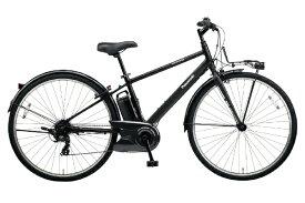 パナソニック Panasonic 【eバイク】700×38C型 電動アシスト自転車 ベロスター(B.ミッドナイトブラック/外装7段変速) BE-ELVS772B【2020年モデル】【組立商品につき返品不可】 【代金引換配送不可】