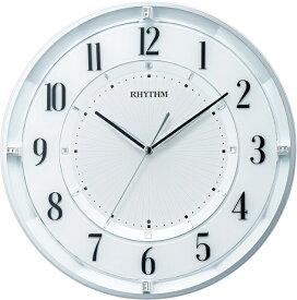 リズム時計 RHYTHM 掛け時計 【フィットウェーブクールM551】 8MY551SR03 [電波自動受信機能有]