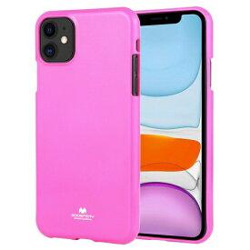 ビジョンネット Mercury FLUORSCENCE JELLYCase iPhone11 VNFLJE11HP ピンク