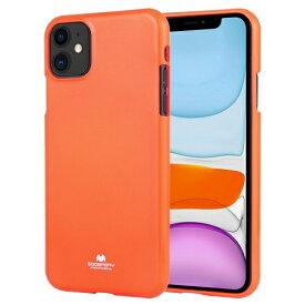 ビジョンネット Mercury FLUORSCENCE JELLYCase iPhone11 VNFLJE11OR オレンジ
