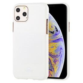 ビジョンネット Mercury JELLYCase iPhone11Pro VNJEL11PWH ホワイト