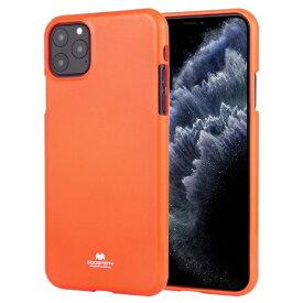 ビジョンネット Mercury FLUORSCENCE JELLYCase iPhone11Pro VNFLJE11POR オレンジ