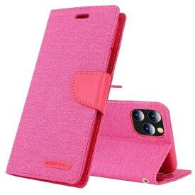ビジョンネット Mercury CANVAS DIARYCase iPhone11 VNCAN11PPK ピンク