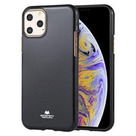 ビジョンネット Mercury JELLYCase iPhone11ProMax VNJEL11PMBK ブラック