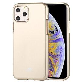 ビジョンネット Mercury JELLYCase iPhone11ProMax VNJEL11PMGD ゴールド