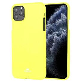 ビジョンネット Mercury FLUORSCENCE JELLYCase iPhone11ProMax VNFLJE11PMLI ライム