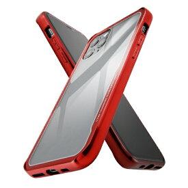 イングレム Ingrem iPhone 11 Pro ハイブリッドガラスケース メタリック/レッド IS-P23CC13/R レッド