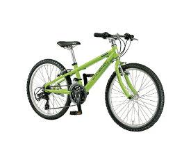 ルイガノ 22型 子供用自転車 J22(LGグリーン/外装18段変速)J22【適応身長:120〜135cm】【組立商品につき返品不可】 【代金引換配送不可】
