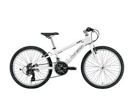 ルイガノ 22型 子供用自転車 J22(LGホワイト/外装18段変速)J22【適応身長:120〜135cm】【組立商品につき返品不可】 【代金引換配送不可】