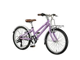 ルイガノ 20型 子供用自転車 J20 Plus(パープル/外装6段変速) J20PLUS【適応身長:110〜125cm】【組立商品につき返品不可】 【代金引換配送不可】