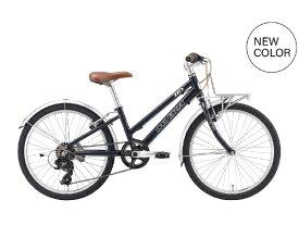 ルイガノ 22型 子供用自転車 J22 Plus(LGネイビー/外装6段変速)J22PLUS【組立商品につき返品不可】 【代金引換配送不可】