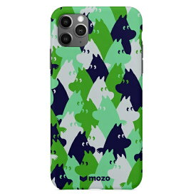 CASEPLAY ケースプレイ MOOMIN for iPhone 11 Pro [ Green camo ]