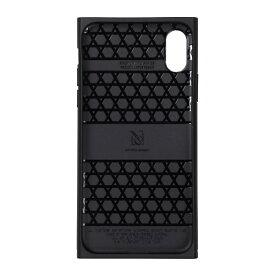 ナチュラルデザイン NATURAL design iPhoneXR専用背面ケース Premium COLOFUL CAMO Black iP18_61-PREMS02