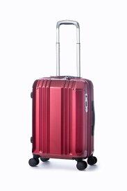 A.L.I アジア・ラゲージ スーツケース ハードキャリー 34L(40L) デカかるEdge ワインレッド ALI-008-18W [TSAロック搭載]