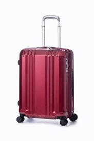A.L.I アジア・ラゲージ スーツケース ハードキャリー 52L(60L) デカかるEdge ワインレッド ALI-008-22W [TSAロック搭載]