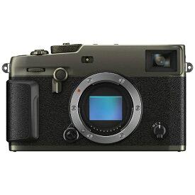 富士フイルム FUJIFILM X-Pro3ーDB ミラーレス一眼カメラ DRブラック [ボディ単体][FFXXPRO3DB]