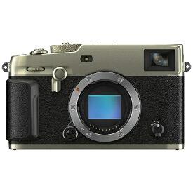 富士フイルム FUJIFILM X-Pro3-DS ミラーレス一眼カメラ DRシルバー [ボディ単体][FFXXPRO3DS]