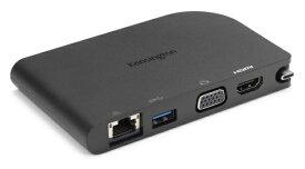ケンジントン Kensington [USB-C オス→メス HDMI / VGA / LAN / USB-A] モバイルドッキングステーション SD1500 K33969JP[K33969JP]