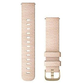 GARMIN ガーミン Quick Release バンド 20mm Blush Pink Woven Nylon / Light Gold 010-12924-52[101292452]