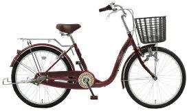 アサヒサイクル Asahi Cycle 23型 自転車 リーセス33(マルーン/内装3段変速/ブロックライト) TU33【2019年モデル】【組立商品につき返品不可】 【代金引換配送不可】