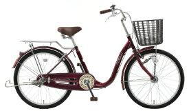 アサヒサイクル Asahi Cycle 22型 自転車 リーセス3S(マルーン/シングルシフト) TU3S【2019年モデル】 【代金引換配送不可】【メーカー直送・代金引換不可・時間指定・返品不可】