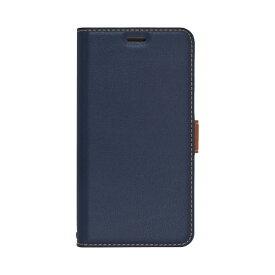 ラスタバナナ RastaBanana iPhone 11 Pro 5.8インチ 薄型手帳ケース サイドマグネット 4930IP958BO ネイビー×ブラウン