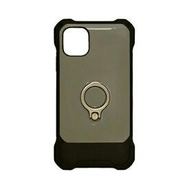 ラスタバナナ RastaBanana iPhone 11 Pro 5.8インチ Tough Ring ハイブリッドケース 4944IP958HB グレー