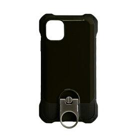 ラスタバナナ RastaBanana iPhone 11 Pro 5.8インチ Tough Ring plus ハイブリッドケース 4945IP958HB ブラック