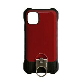 ラスタバナナ RastaBanana iPhone 11 Pro 5.8インチ Tough Ring plus ハイブリッドケース 4946IP958HB レッド