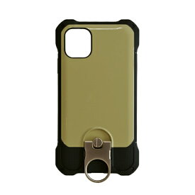 ラスタバナナ RastaBanana iPhone 11 Pro 5.8インチ Tough Ring plus ハイブリッドケース 4948IP958HB カーキ