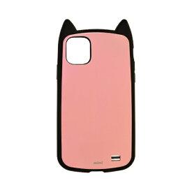 ラスタバナナ RastaBanana iPhone 11 Pro 5.8インチ VANILLA PACK mimi 4971IP958HB ブラック×ライトピンク