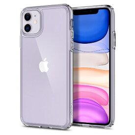 SPIGEN シュピゲン iPhone 11 6.1インチ Crystal Hybrid Crystal Clear