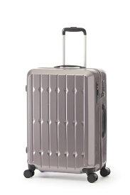 RUNWAY スーツケース ハードキャリー 63L RUNWAY モーブシルバー BC2002S24 [TSAロック搭載]【point_rb】